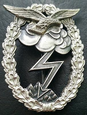 ✚7001✚ German Luftwaffe Ground Attack Badge post WW2 1957 pattern ST&L made