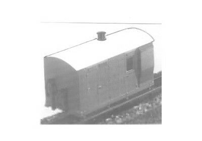 Vale of Rheidol 4 Wheel Guards Van (OO9 kit) - Dundas DM17 - F1