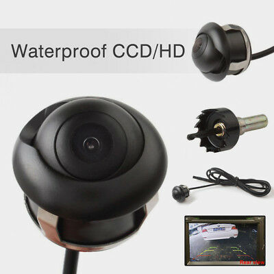 360° HD CCD Car Rear View Reverse Night Vision Backup Parking Camera Waterproof