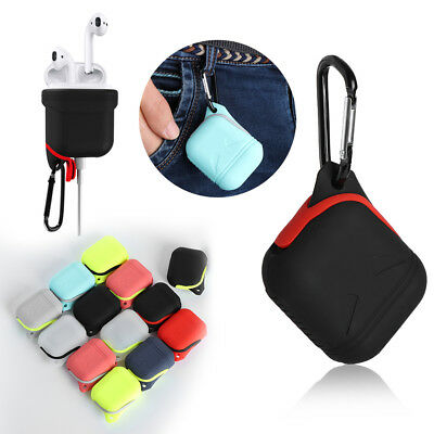 Silicone Waterproof Earphones Case Cover Protective Skin For AirPods EarPods