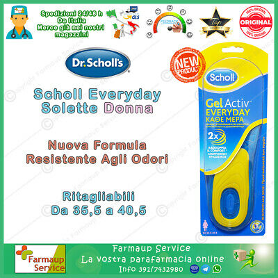 Dr Scholl Gel Active Everyday Uso Diario Solette Donna