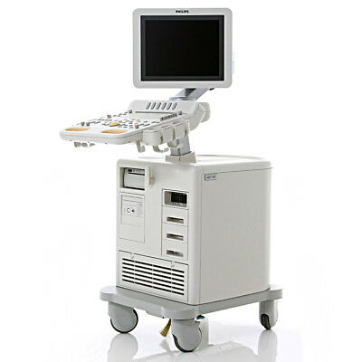 CVO Philips HD7-XE Ultrasound System Shared Service Machine Cardiac S4-2 Probe