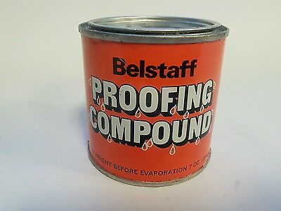 Vintage Belstaff Motorcycle Garments Protection Re-Proofing Wax Dressing 200 gr.