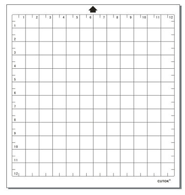 """12"""" cutting mat full grid for Silhouette Cameo Carrier sheets Value Replacement"""