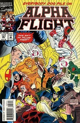 Alpha Flight #127 Vol.1 Vf/nm (X-Men)
