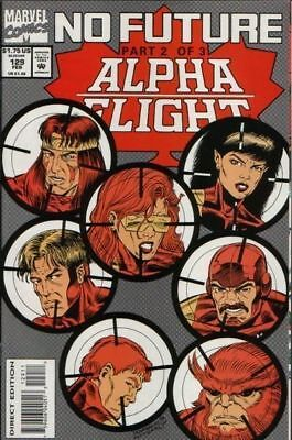 Alpha Flight #129 Vol.1 Vf/nm (X-Men)