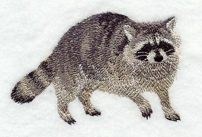 "Raccoon Embroidered Patch 4.5""x 3"""