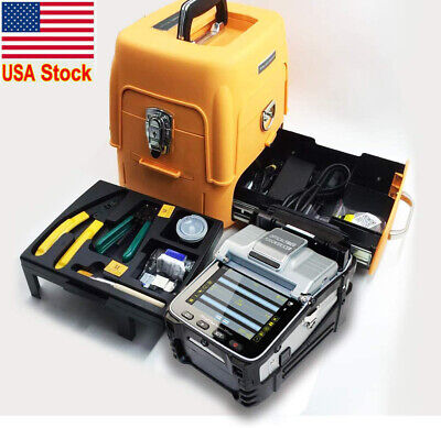 AI-8 SM&MM Automatic Fiber Optic Splicing machine/Fusion Splicer/Fiber Cleaver