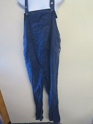 Maternity Denim Dungarees Overalls Jumpsuits Size S UK 8/10 euro 36-38