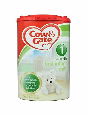 Cow & Gate Stage 1 First Infant Milk from Birth - 1 x 900g dated 18/11/2018