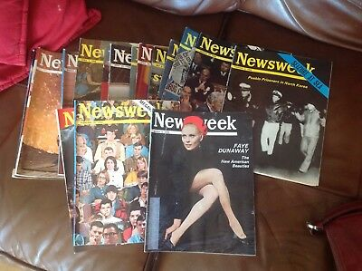 19 news week magazines 1968.