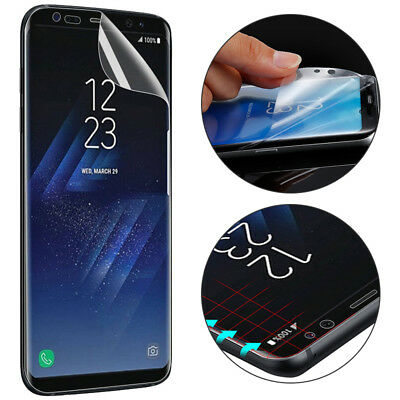 TPU Cover Screen Protector Film for Samsung Galaxy S9 + S7 Edge S8 Note8 A8 2018