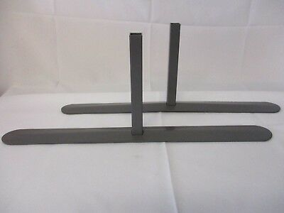 Screen Stability Feet with Flat Base - 1 Pair - Spicers Trexus Plus - 50cm Long