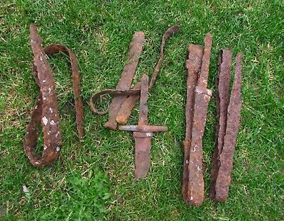 4 x Ritually Killed / Sacrificed VIKING SWORDS - Battle Relic c. 800 AD (1124+)