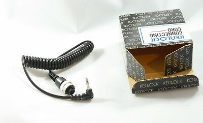 Kenlock Connecting Cord for Pentax ME - Vintage Flash Cord IOB