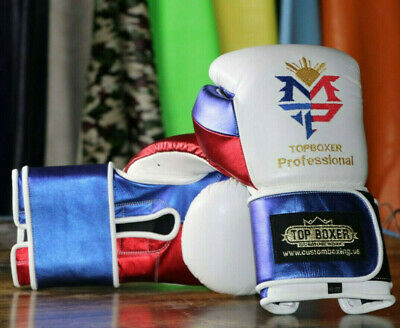 TopBoxer Manny Pacquiao Boxing Gloves Cleto Reyes Style