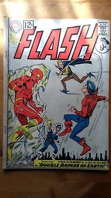 FLASH #129, DC COMICS June 1962, VG CONDITION, 2ND GOLDEN AGE FLASH