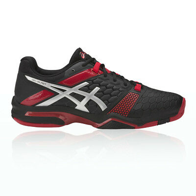 Asics Gel-Blast 7 Mens Red Black Squash Indoor Court Sports Shoes Trainers