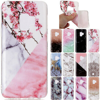 Ultra Slim Marble Soft TPU Silicone Back Case Cover For Xiaomi Sony LG Nokia