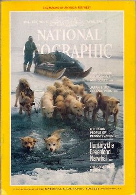 national geographic-APR 1984-NARWHAL HUNTERS.