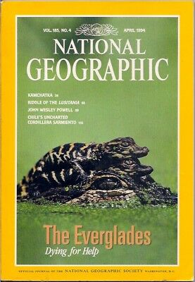 national geographic-APR 1994-EVERGLADES.