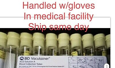40x Bd Vacutainer ACD Solution A Blood Collection Tubes 06/19 PRP/PRF,ship July