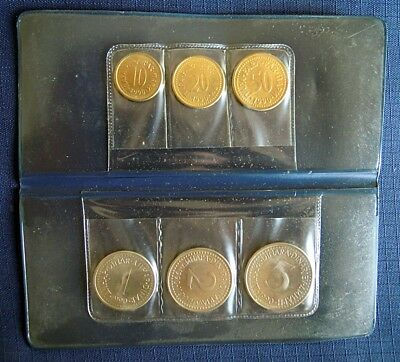 Set of coins 1990 - 6 coins - Yugoslavia