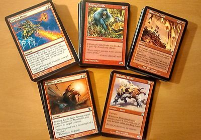 50x  Rote Uncommon KartenDeutsch oder Englisch Magic the Gathering