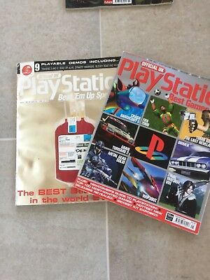 Official UK Playstation Magazines Beat 'em up & Best Games specials