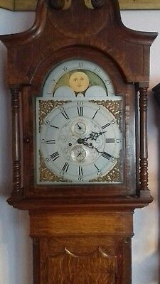 Excellent Quarter Chiming Moonroller Very Rare English Movement 8 Day...