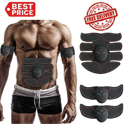 Premium ABS Simulator EMS Training Body Abdominal Arm Muscle Exerciser Home Set