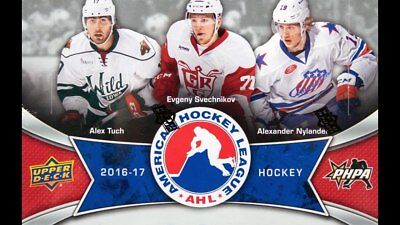 2016-17 Upper Deck AHL Hockey Base Cards! U Select From List Including SP's