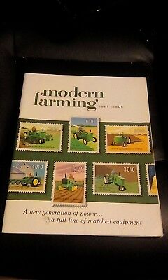 Vintage John Deere Modern Farming 1961 Issue Product Catalog