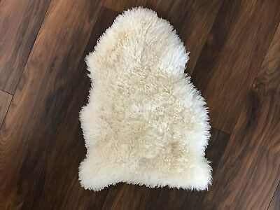 Small Sheepskin Baby Rug / Liner for Cot