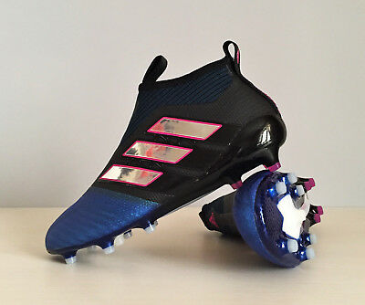 online store b618b af223 ADIDAS ACE 17+ Purecontrol FG BB4312 Blue Soccer Cleats Pogba