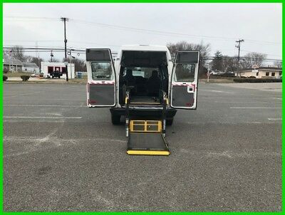 Ford E-Series Van Commercial VAN WHEELCHAIR HANDICAP POWER LIFT HIGH TOP 2009 Commercial Used 4.6L V8