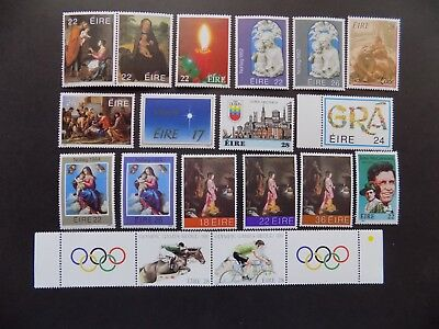(20) mnh Irish stamps off paper all Com.-2-12-some c. sets-We combine shipping