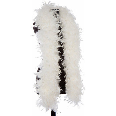 Off White - Ivory 65 Gram Chandelle Feather Boas - 6 Feet Long - Not Steamed