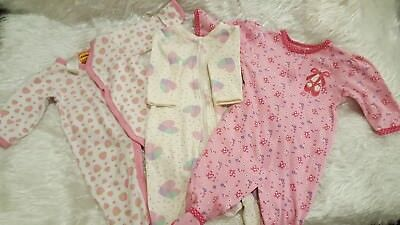 Baby Girl Jumpsuits bundle size 00 -  Sprouts, WeeBabe, Target