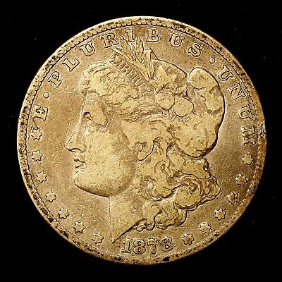 1878 P ~**1ST YEAR ISSUE**~ Silver Morgan Dollar Rare US Old Antique Coin! #572