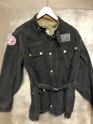 Johnson Motors Steve McQueen Motorcycle Jacket Rare Men's Medium M