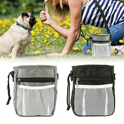 Pet Puppy Dog Obedience Treat Bag Feed Bait Food Snack Training Pouch Belt Bag