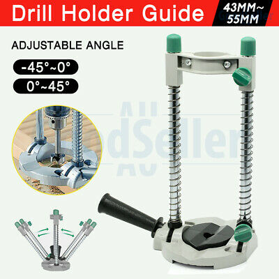 Drill Guide Drill Stand 45° Adjustable Electric Drill ∅ 42mm Mobile Swivel 2018