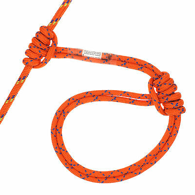 20kN 48in Pre-sewn Purcell Prusik Loop 8mm Arborist Rescue Boating Lanyards