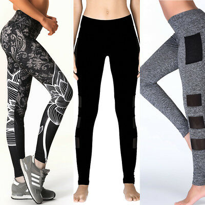 Women Yoga Running Pants Gym Workout Fitness Clothes Tights Sport Wear