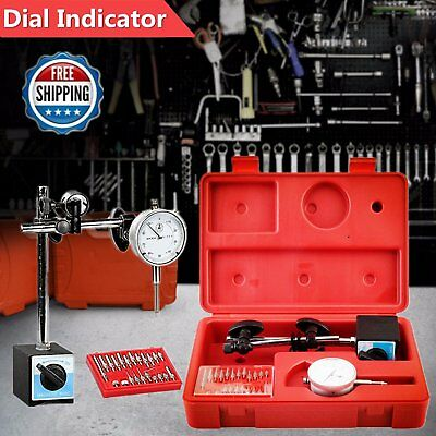 Dial Indicator, Magnetic Base & Point Precision Inspection Set New OY