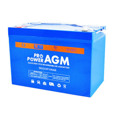 110Ah 12V Gel Agm Vrla Deep-Cycle  Battery Caravan 4Wd Marine