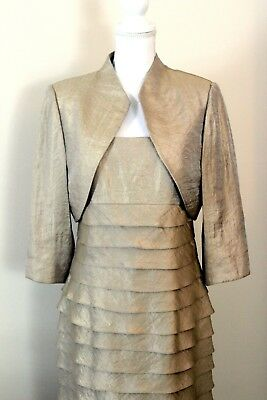 Jessica Howard Womens Formal Wedding Mother of the Bride Dress Size 12 + Jacket!