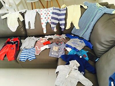 Baby Boy Clothes Size 00 Lot3