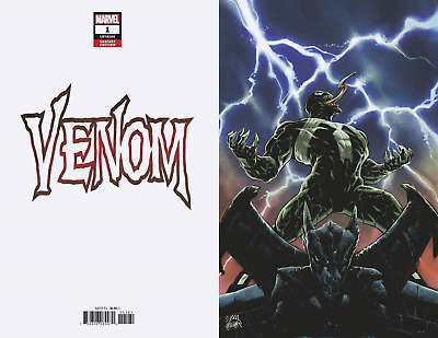 VENOM #1 Cates Stegman Virgin Variant 1:100 -REGULAR COVER-POSTER- 5/9/18